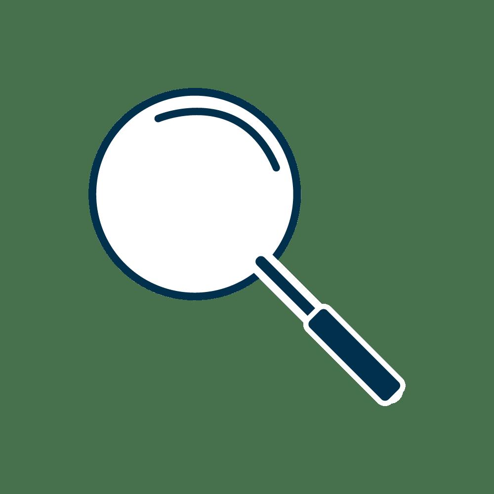 Icon einer Lupe
